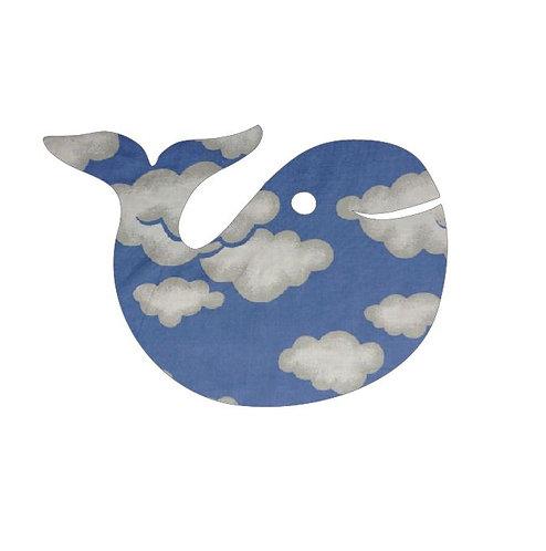 whale pin board - blue yonder