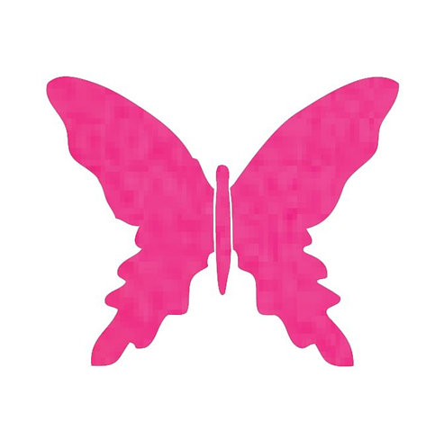 Butterfly pin board -hot pink