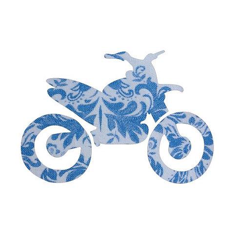 Stunt Cycle - blue china