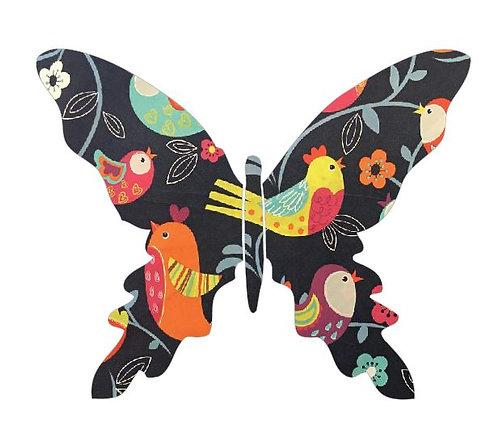 Butterfly pin board -birdie