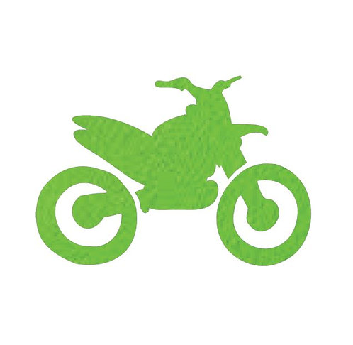 Stunt Cycle - lime
