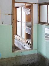 施工事例「戸建住宅」佐世保市本山町-バスルーム(施工前)