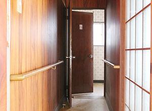 施工事例「戸建住宅」佐世保市大岳台-廊下(施工前)