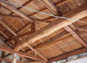施工事例「戸建住宅」佐世保市大岳台-2F和室天井(施工前)