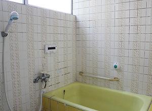 施工事例「戸建住宅」佐世保市大岳台-バスルーム(施工前)