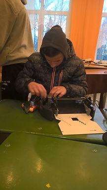 """Robotika Latvijas internātskolās labdarības projekts""""  Vaiņodē"""