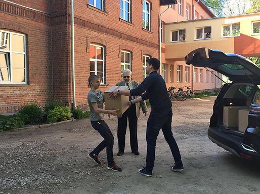 Gultas veļa Valmieras vājdzirdīgo bērnu internātvidusskolai - attīstības centram