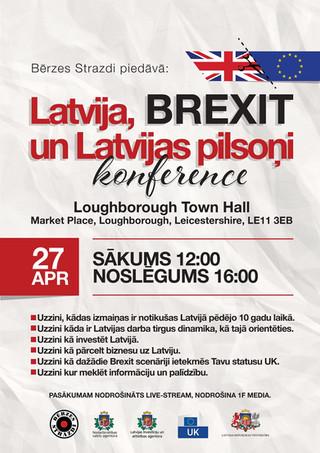 Latvija, BREXIT un Latvijas pilsoņi - konference