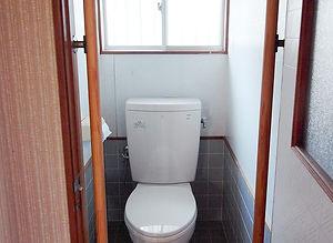 施工事例「戸建住宅」佐世保市原分町-トイレ(施工前)