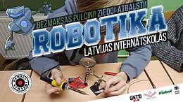 Labdarības projekta ietvaros robotikas mācības internātskolās turpina 44 skolēni