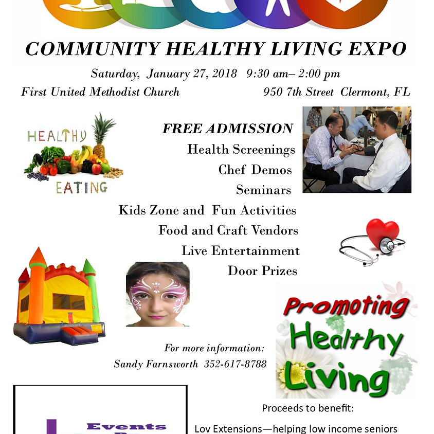 Healthy Living Expo - Clermont