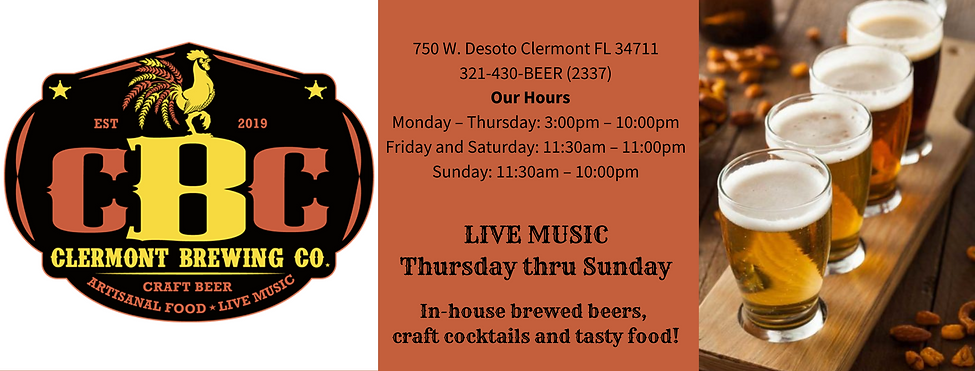 Clermont Brewing Company downtown beer.p
