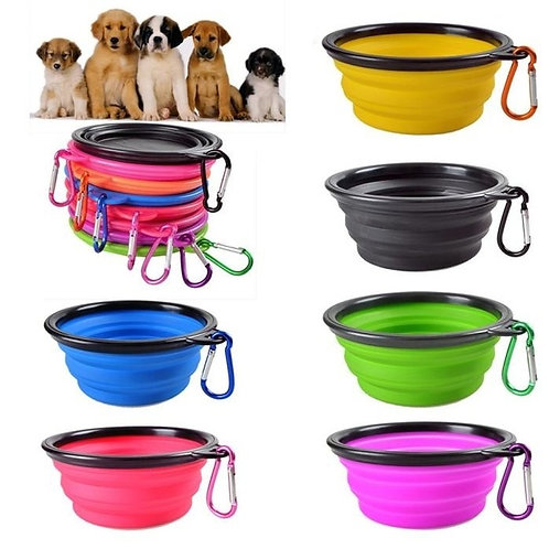 Collapsible Dog Dish