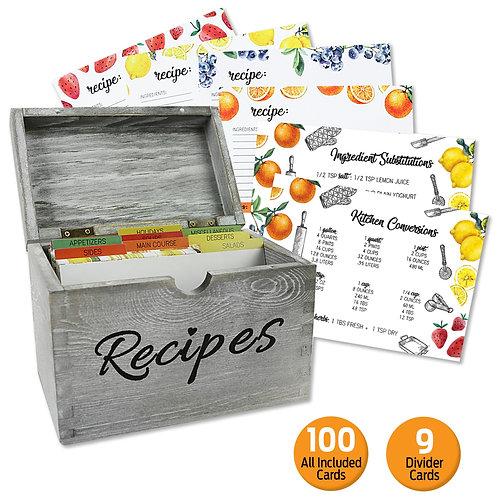 Pinewood Recipe Box Set