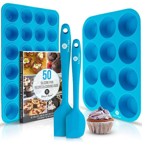 Silicone Muffin Pan Set