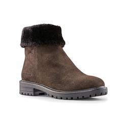 Kendal Suede Leather Dark Brown Waterproof