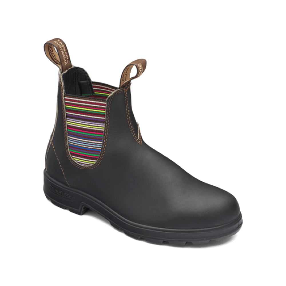 550 Chelsea Boot Brown Stripe