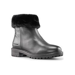 Kendal Leather Black Waterproof