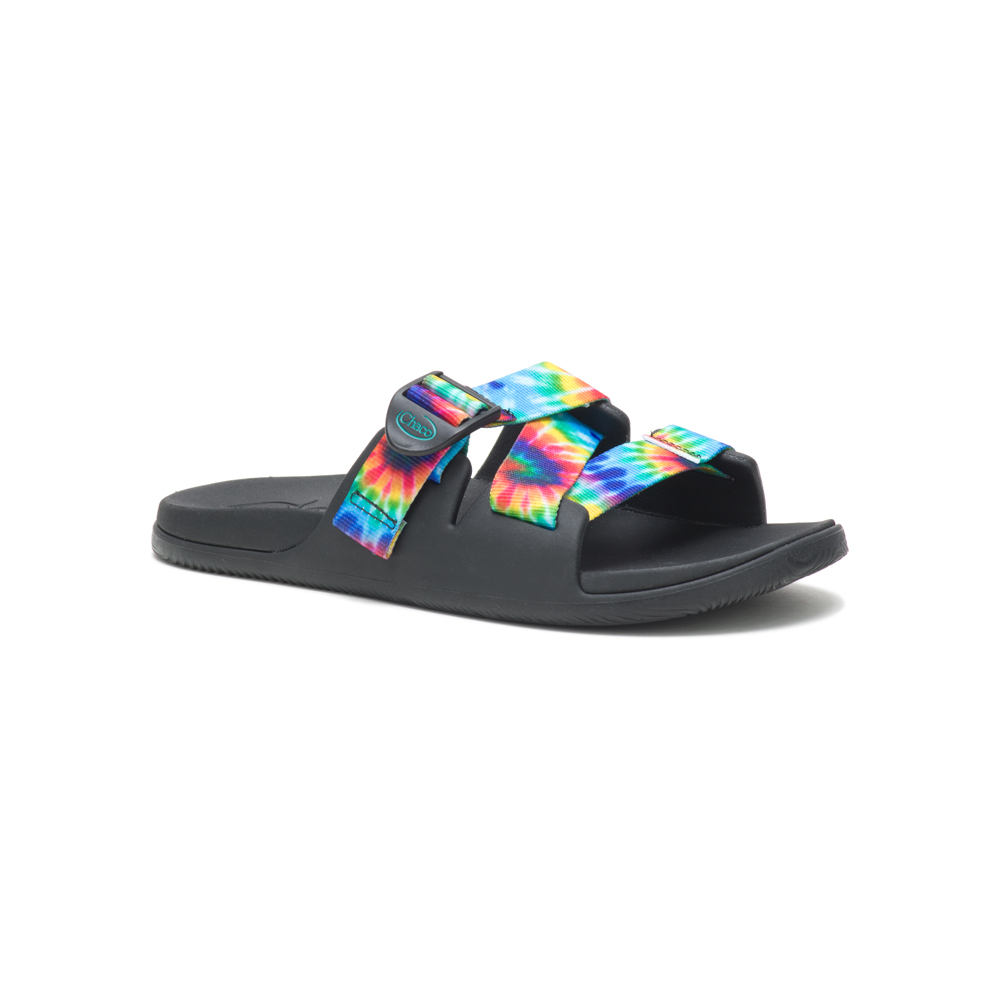 Chillos Slide Dark Tie Dye