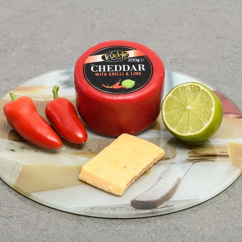 Cheddar with Chilli & Lime Truckle
