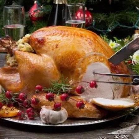 Traditional White  Turkey