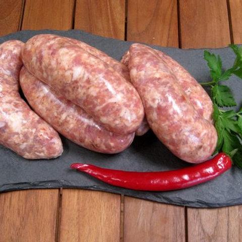 Cornish Sweet Chilli Pork Sausage