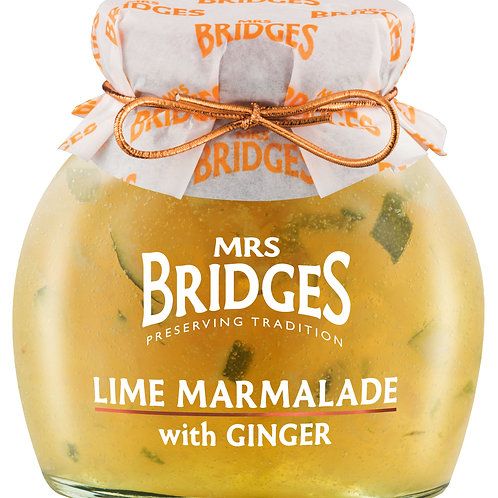 Lime Marmalade with Ginger