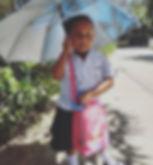 April heads off to Kindergarten #Happytu