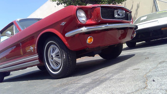 1966 Red Coupe