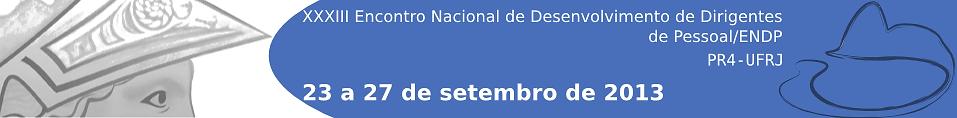 Logotipo do ENDP 2013