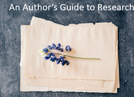 An Author's Guide to Research