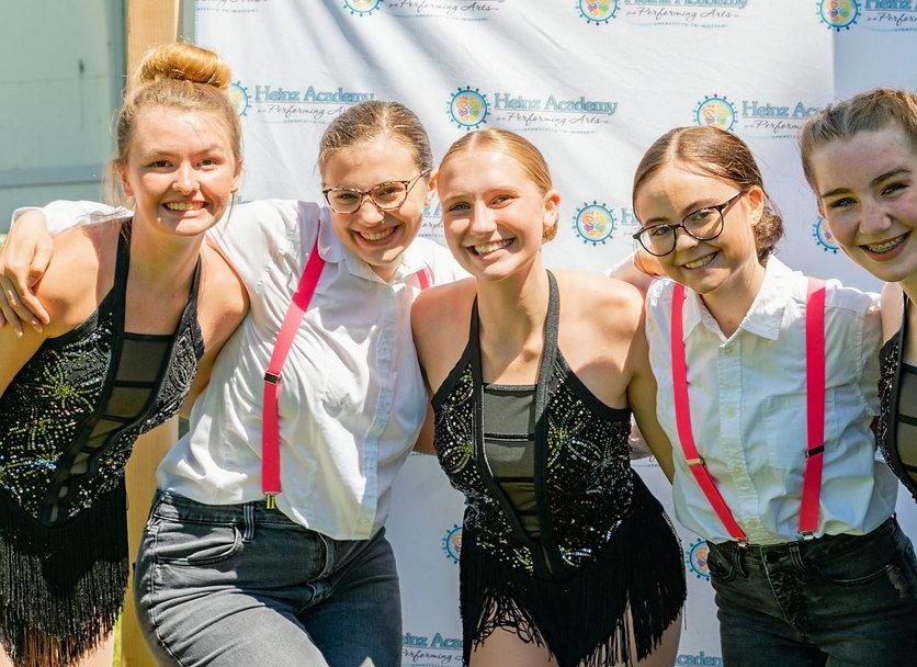 Teenage Happy Dancers Heinz Academy