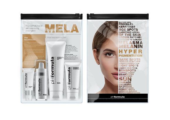 M.E.L.A. resurfacing KIT - Pigmentoituneen ihon kotihoitotuotteet