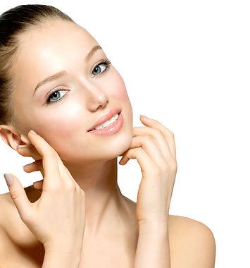 Beauty Model Girl Portrait . Beautiful W