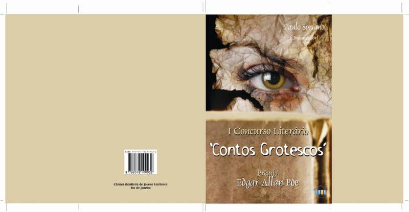Capa da antologia Contos Grotescos