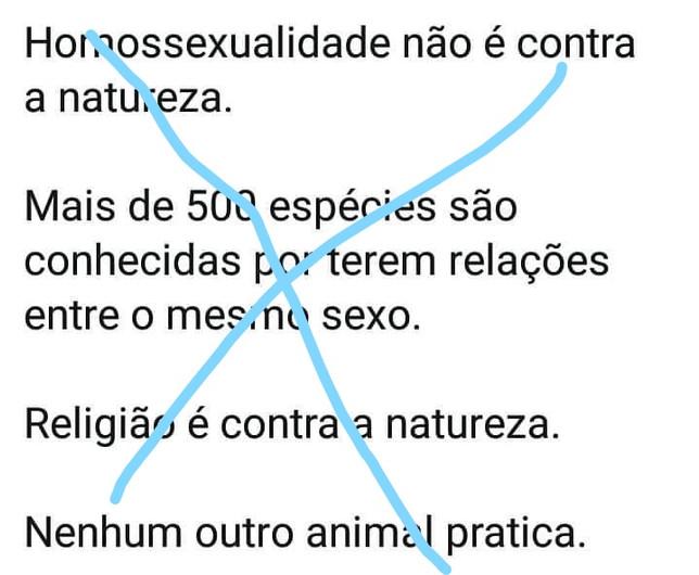 RELIGIÃO E HOMOSSEXUALIDADE