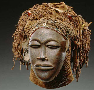 Máscara originária do Congo