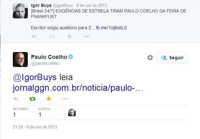 A OBRA MAIOR DE PAULO COELHO