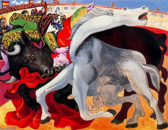 Reprodução: La Muerte del Torero; Pablo Ruiz Picasso