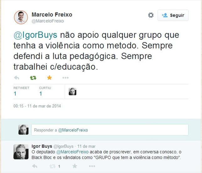 """FREIXO EM CONVERSA COMIGO: BLACK BLOC É """"GRUPO QUE TEM A VIOLÊNCIA COMO MÉTODO"""""""