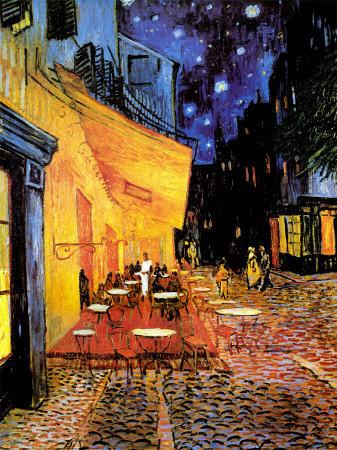 Van Gogh; Terraço do Café na Praça do Fórum, Arles, à Noite