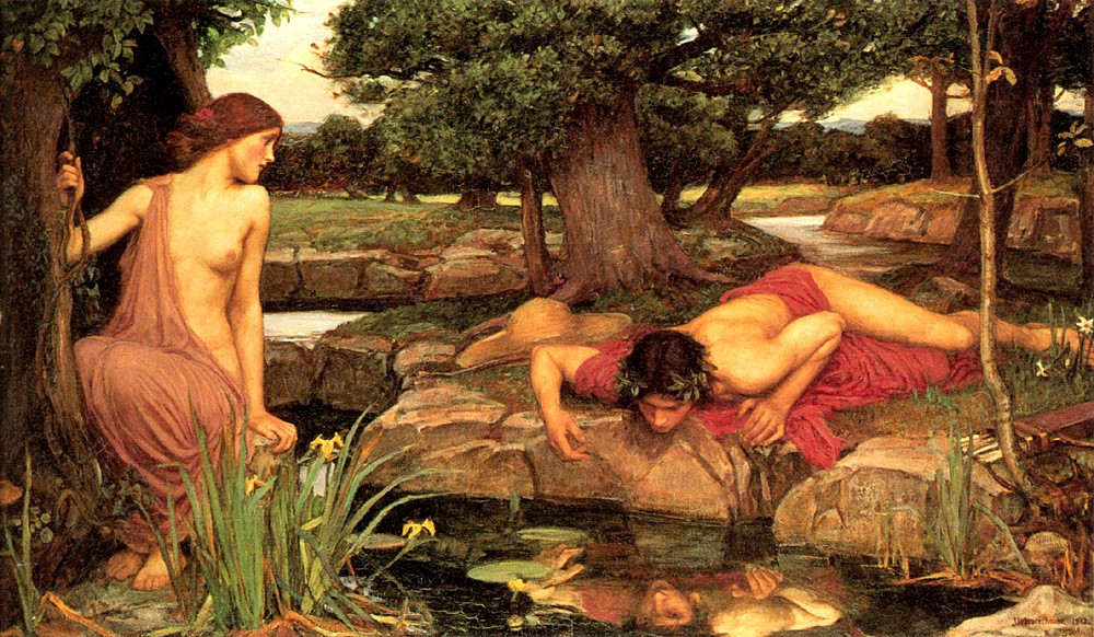 Narciso e Eco, de Waterhouse