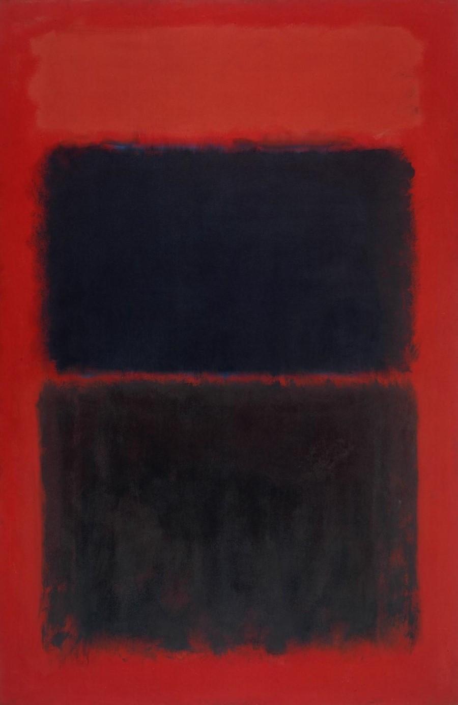 Mark Rothko: Vermelho Claro Sobre Negro