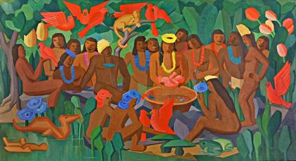 Tarsila do Amaral; Batizado de Macunaíma