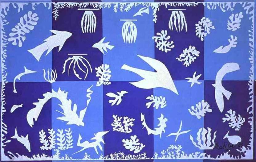 Matisse; Mar da Polinésia
