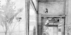 Window seat at Darwin's