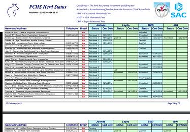 Feb 19 PCHS Report