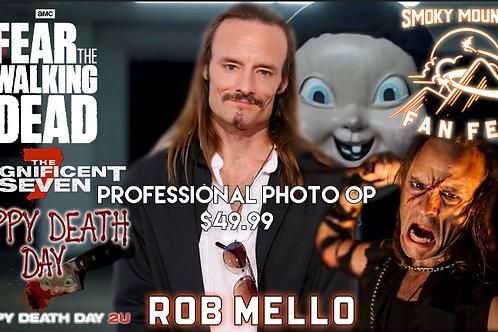 Rob Mello Professional Photo Op