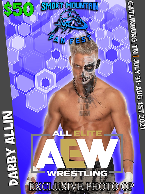 Darby Allin Professional Photo Op