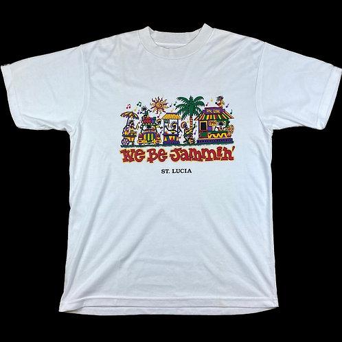 Vintage St Lucia t-shirt